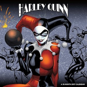 Harley Quinn 2017 Wall Calendar