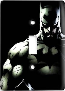 Batman Black Light Switch Cover