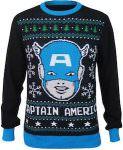 Marvel Marvel Captain America Christmas Sweater