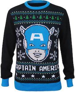 Captain America Christmas Sweater