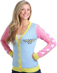 Wonder Woman Retro Cardigan