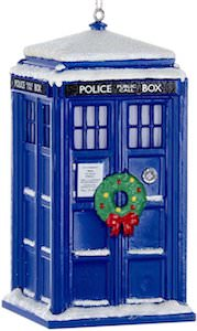 Doctor Who 3D Christmas Tardis Ornament
