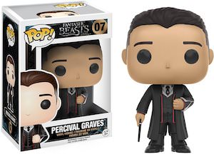 Fantastic Beasts Percival Graves Figurine