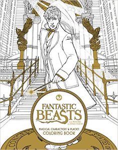 Fantastic Beasts and Where to Find Them Adult Coloring Book