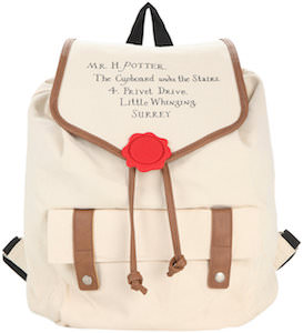 Harry Potter Hogwarts Letter Backpack