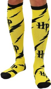 Yellow Harry Potter Knee Socks