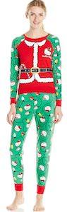 Hello Kitty green Christmas Pajama Set