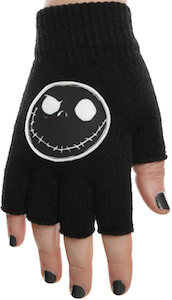 Jack Skellington Fingerless Gloves