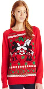 Mickey And Minnie Under the Mistletoe Christmas Sweater
