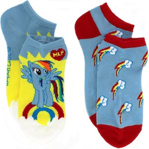 My Little Pony Rainbow Dash Ankle Socks