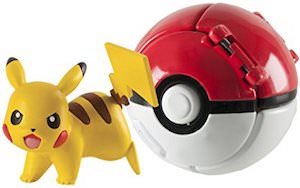 Pikachu And Poke Ball Throw N' Play Toy