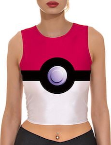 Women's Poke Ball Crop Top