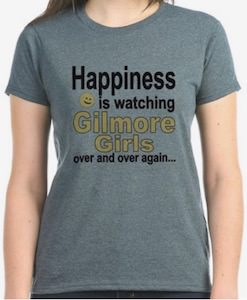 Happiness Is Watching Gilmore Girls T-Shirt