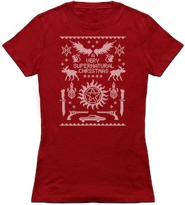 A Very Supernatural Christmas T-Shirt