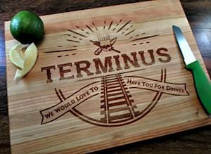 The Walking Dead Terminus Cutting Board
