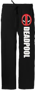 Deadpool Name And Logo Lounge Pants