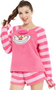 Women's Cheshire Cat Pajama Set