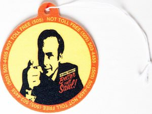 Better Call Saul Air Freshener