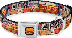 Bob's Burgers Dog Collar