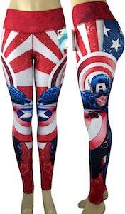 Captain America Yoga Pants / Leggings