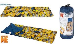 Despicable Me Kids Minion Sleeping Bag