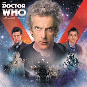 Doctor Who 2017 Wall Calendar