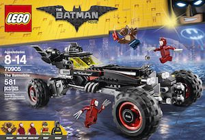 LEGO Batmobile From The LEGO Batman Movie
