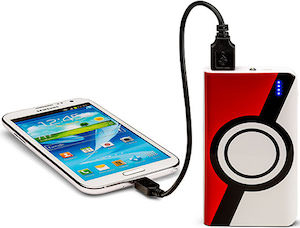 Pokemon Poke Ball Power Bank