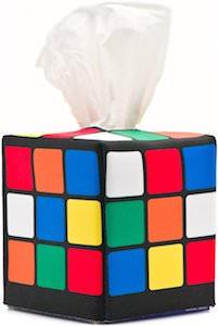 Rubik's Cube Tissue Box Cover