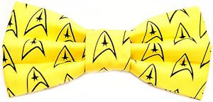 Star Trek Command Bow Tie