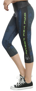 Star Wars Use The Force Workout Capri Leggings