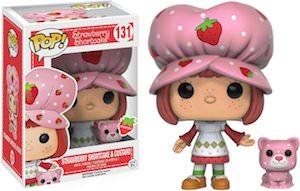 Strawberry Shortcake & Custard Pop! Figurine