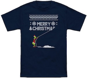 The Grinch Stealing Christmas Sweater Or T-Shirt