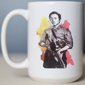 The Walking Dead Glenn Mug