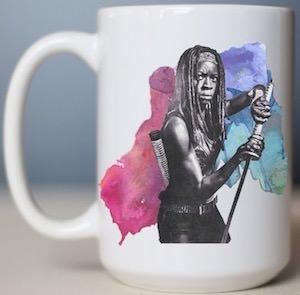 Michonne And Sword Mug