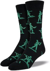 Pixar Toy Story Green Army Men Socks