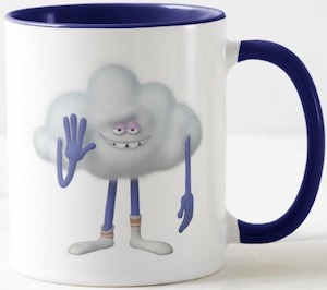 Dreamworks Trolls Cloud Guy Mug