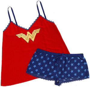 Wonder Woman Women's Short and Tank Top Sleep Set