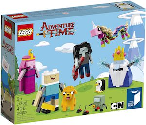Adventure Time LEGO Set 21308