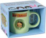 Bob's Burgers Spinning Burger Mug