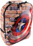 Marvel Captain America Wall And Shield Backpack