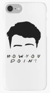 Friends Joey Tribbiani How You Doin iPhone Case
