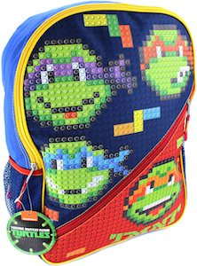 Teenage Mutant Ninja Turtles LEGO Style Backpack