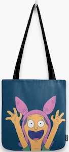 Louise Belcher Tote Bag