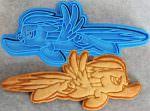 Rainbow Dash Cookie Cutter