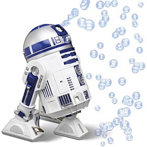 Star Wars R2-D2 Bubble Machine