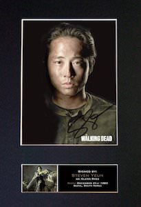 Glenn Rhee Signed Photo Print