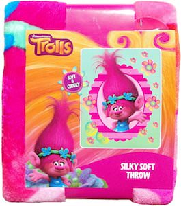 Trolls Poppy Throw Blanket