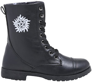 Supernatural Anti-Possession Combat Boots