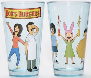 Bob's Burgers Pint Glasses